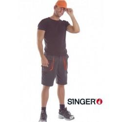 Short de travail SINGER en Polyester/coton