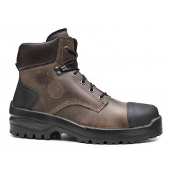 Chaussures de sécurité montantes avec semelle caoutchouc S3 HRO CI HI SRC