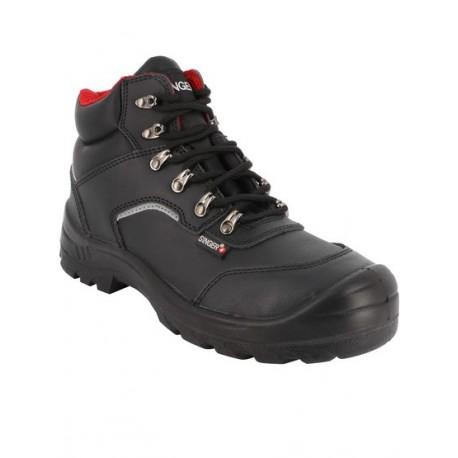 Chaussure haute de sécurité en cuir