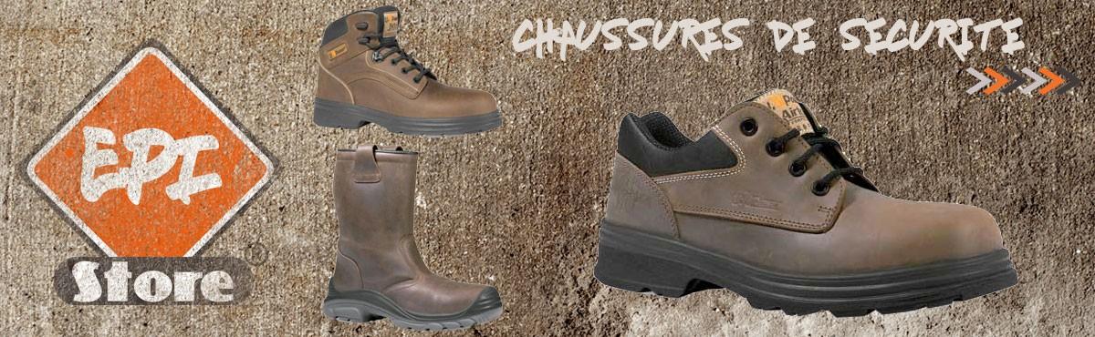 Chaussures de sécurité professionnelles EPI
